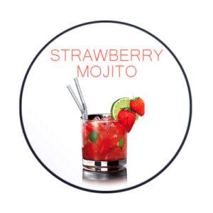 תערובת תה (מוחיטו תות) chabacco strawberry mojito