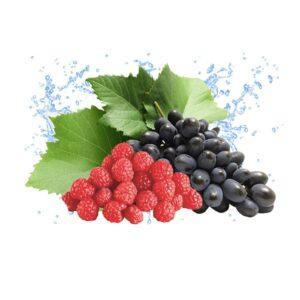 טבק לנרגילה  בטעם ענבים עם פטל