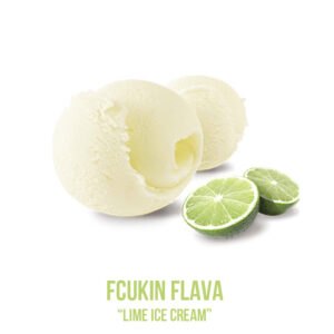 "נוזל מילוי ""FCUKIN FLAVA X  ""Lime ice cream"