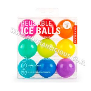 4 יחידות כדורי קרח רב פעמי