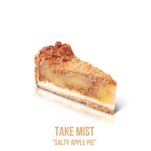 "נוזל מילוי ""Take Mist ""Salt Apple Pie"