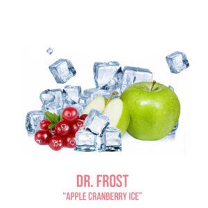 """נוזל מילוי """"DR. FROST """" Apple Cranberry ice"""