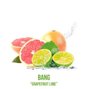 """נוזל מילוי """"BANG """"Grapefruit Lime"""