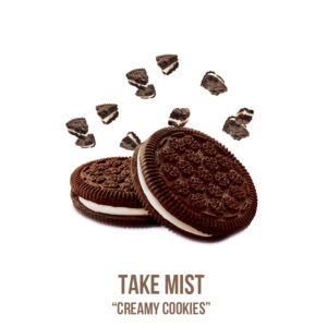 "נוזל מילוי ""Take Mist ""Creamy Cookies"