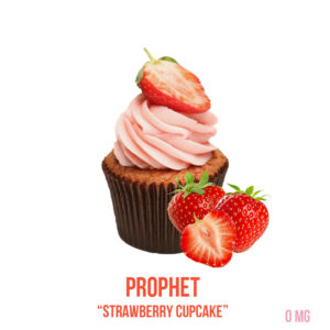 "נוזל מילוי ""PROPHET 0 MG ""Strawberry cupcake"