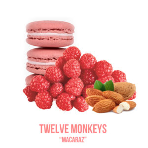 "נוזל מילוי ""TWELVE MONKEYS "" Macaraz"