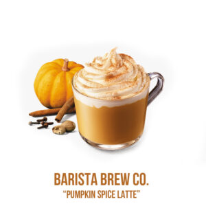 "נוזל מילוי ""Barista Brew Co. "" Pumpkin Spice Latte"