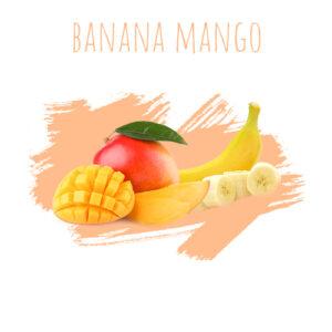 תערובת תה לנרגילה DALY Banana Mango
