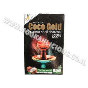 גחלים טבעיים לנרגילה Coco Gold