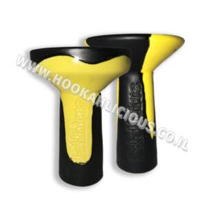 Black Yellow Hookahlicious Bowl