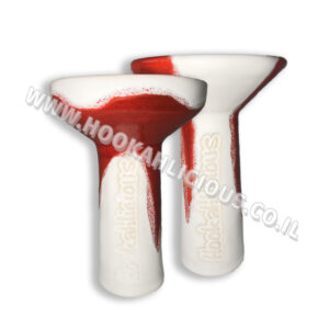 Red White Hookahlicious Bowl
