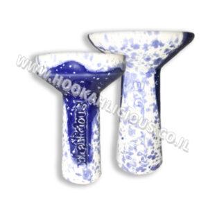 White Blue Hookahlicious Bowl