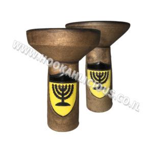 ראש חימר לנרגילה Beitar Jerusalem